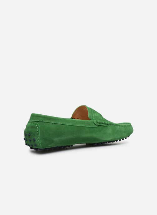 Mocasines Mr SARENZA Suttini Verde vista de frente